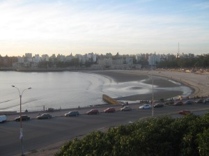 playas en Montevideo